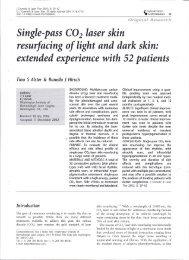 Single-pass-CO2-Laser-Skin-Resurfacing-of-Light - Washington ...