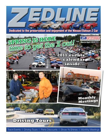 March/April 2011 - Ontario Z-Car Owners Association
