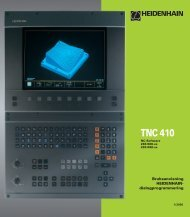 TNC 410 - heidenhain
