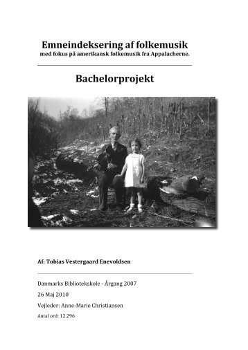 Bachelor projekt Final-final - Tobias Enevoldsen