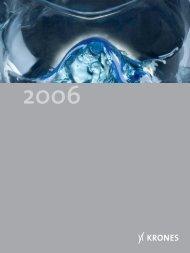 Geschäftsbericht Konzern 2006 - Krones AG