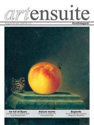 Nature morte Kunstmagazin Im full of Byars Begierde - artensuite
