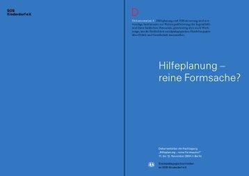 SPI-Dokumentation 4: Hilfeplanung – reine Formsache? - DJI