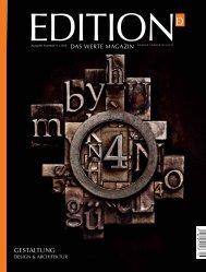 GESTALTUNG - edition - das werte magazin