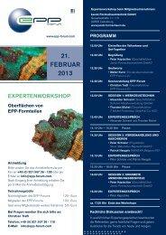 21. FEbruAr 2013 - EPP Forum