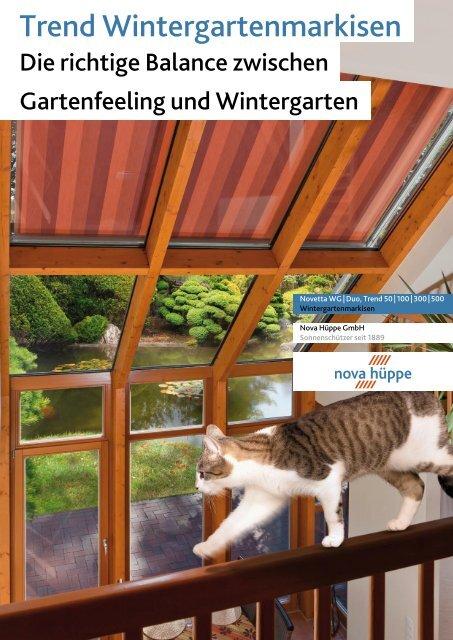 Trend Wintergartenmarkisen