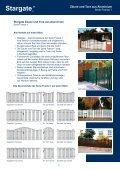 Pflegeleichte Zäune und Tore - Seite 3