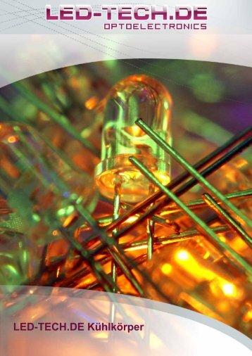 Produktkatalog Kühlkörper - LED-Tech