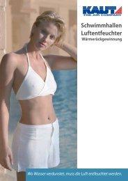 Schwimmhallen Luftentfeuchter - Alfred Kaut GmbH + Co.