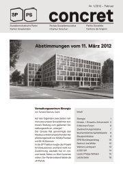 Ausgabe Nr. 1, Februar 2012 - Sozialdemokratische Partei ...
