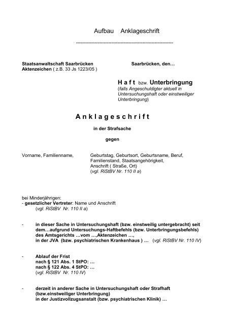 Die Staatsanwaltliche Abschlussentscheidung 8
