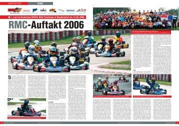 RMC-Auftakt 2006 - ROTAX MAX Challenge