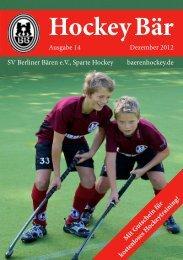 14. Ausgabe Dezember 2012 - Hockey