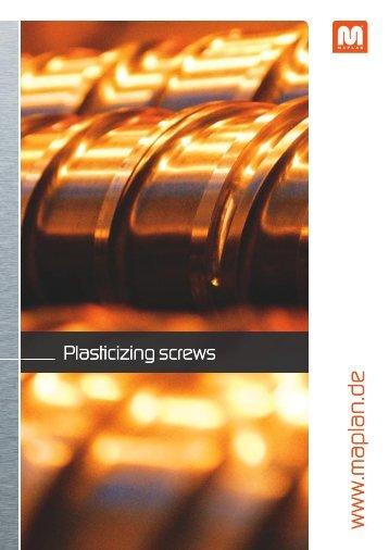 Plasticizing Screws - Maplan GmbH