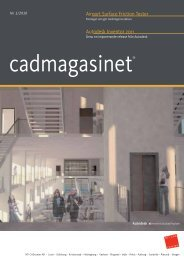 Download cadmagasinet nr. 1 2010 som PDF-fil - nti cad center