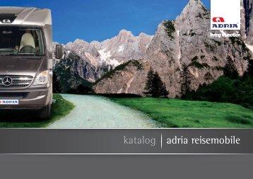 ADRIA WOHNMOBILE 2010 Katalog