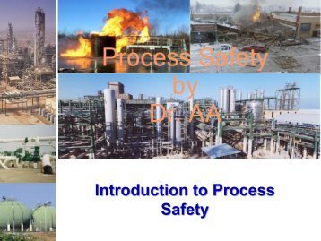 Lecture 1 – Putting Safety Into Perspective - HAZOP Malaysia