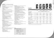 CAMPER – Serienausstattung CAMPER - Dethleffs