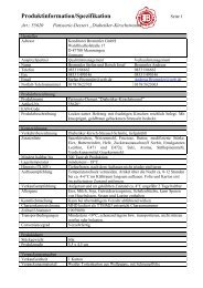 Produktinformation/Spezifikation - Geyer Food Konzept, Fresh-Food ...