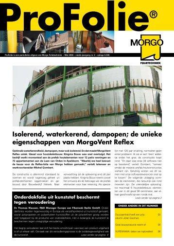 Profolie mei 2008 - Morgo Folietechniek