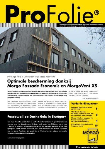 Optimale bescherming dankzij Morgo Fassade Economic en ...