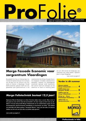 Profolie oktober 2011 - Morgo Folietechniek