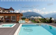 druckbares Prospekt als PDF - Wellness Alpin Hotel Hubertus - Olang