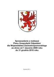 sprawozdanie z WPGO za lata 2009-2010.pdf - Urząd ...