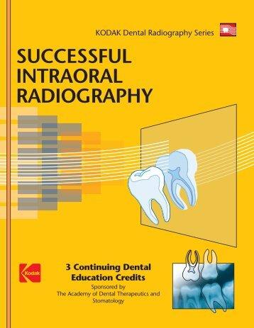 SUCCESSFUL INTRAORAL RADIOGRAPHY EPUB DOWNLOAD