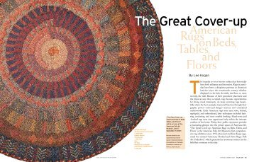 The great Cover-up - American Folk Art Museum