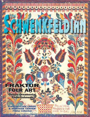 fraktur folk art fraktur folk art - Schwenkfelder Library & Heritage Center