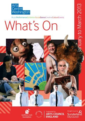 Download What's On - Arts Centre Washington