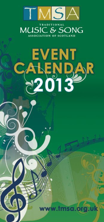 TMSA Event Calendar 2013 - Traditional Music and Song ...