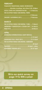 TMSA Event Calendar 2013 - Traditional Music and Song ... - Page 6