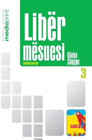 Gjuha shqipe 3 - Media Print