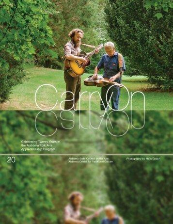 Celebrating Twenty Years of the Alabama Folk Arts Apprenticeship ...