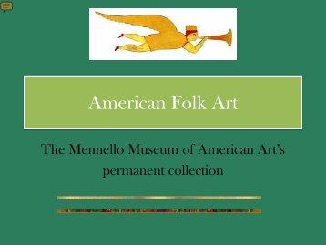 American Folk Art.pdf - The Mennello Museum of American Art