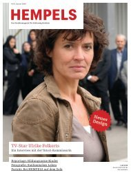 TV-Star Ulrike Folkerts - Hempels