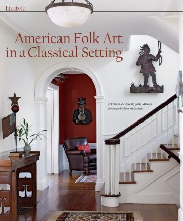 American Folk Art in a Classical Setting - Antiques and Fine Art