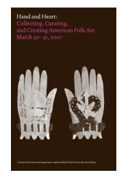 Hand and Heart - Yale University Art Gallery