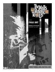 FOLK ART - The Walls Belong To US
