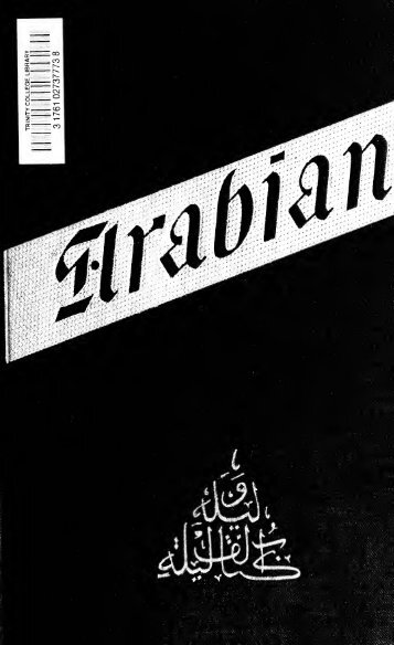 A plain and literal translation of the Arabian nights entertainments ...