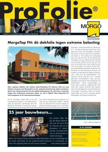 Profolie oktober 2008 - Morgo Folietechniek