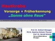 Haut - Tumorzentrum Erlangen-Nürnberg