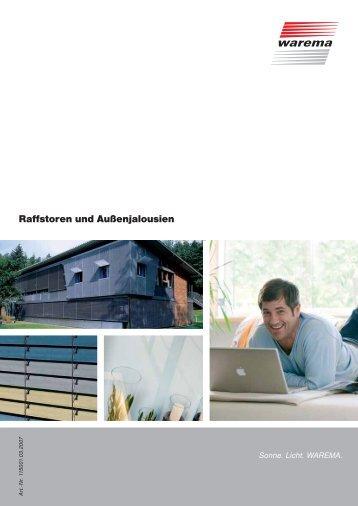 Übersicht Raffstore - FB-Sonnenschutztechnik und Metallbau GmbH ...