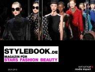 finden Sie Infos zu STYLEBOOK .de - Axel Springer MediaPilot