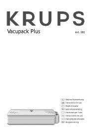 Vacupack Plus - Krups