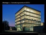 Green Building - Montage- und Verwaltungszentrum ESTA Dipl.-Ing
