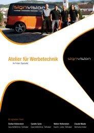 Atelier für Werbetechnik PDF (211 Kb) - signvision