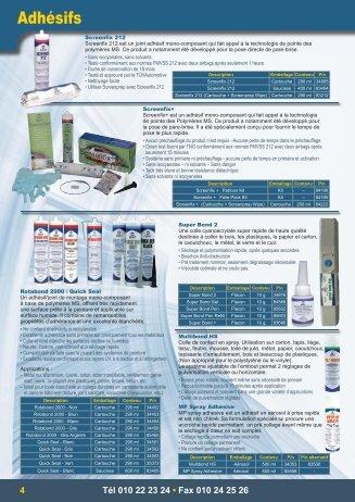 Catalogue - CAP TECH TAHITI